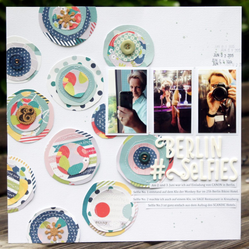 Shimelle Scrapbooking Layout