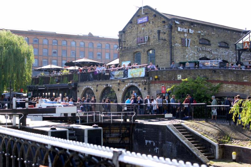 Camden Lock London UK