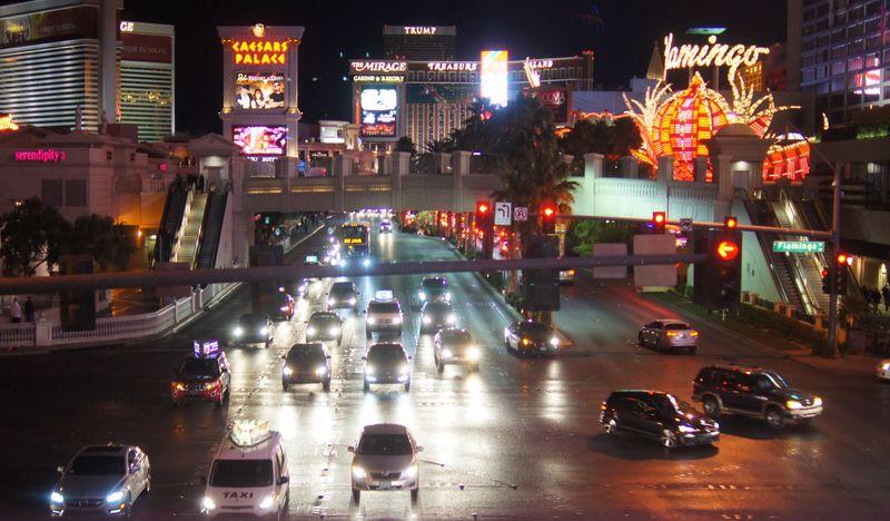 Las Vegas Strip nachts