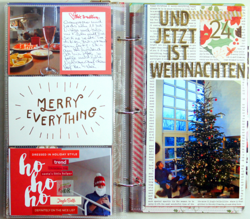 December Daily 2015 Dezembertagebuch 6x12""