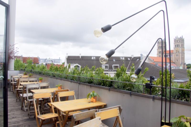 The Flushing Meadows Rooftop Bar Munic