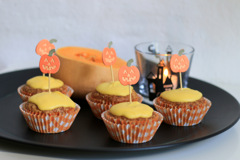 butternut pumpkin muffins Kürbis-Muffins