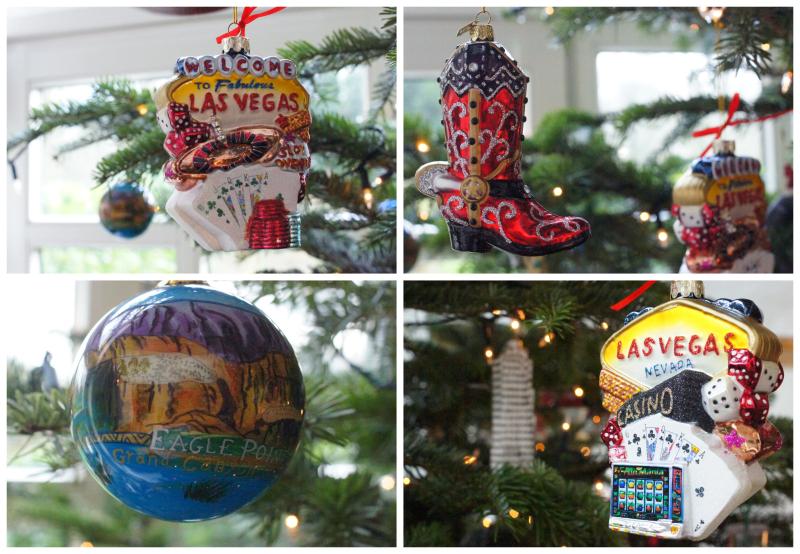 christmas ornaments weihnachtsbaumschmuck Las Vegas