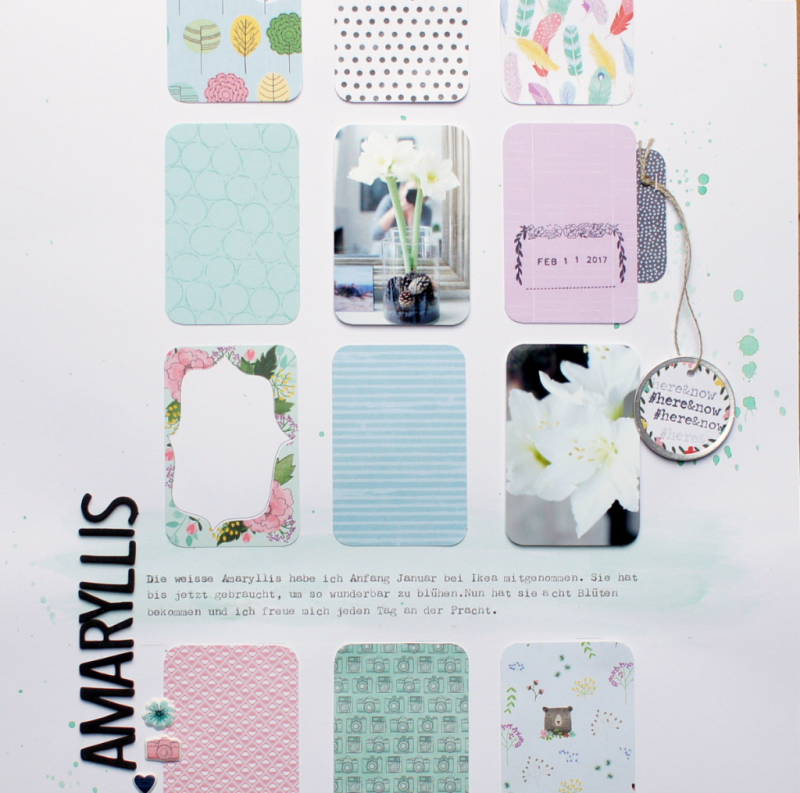 Scrapbooking Layout Shimelle Little by Little