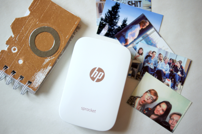 HP Sprocket mobile printer pictures