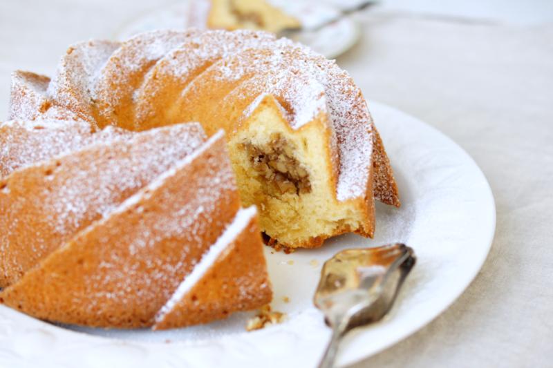 Walnuss-Praliné-Kuchen