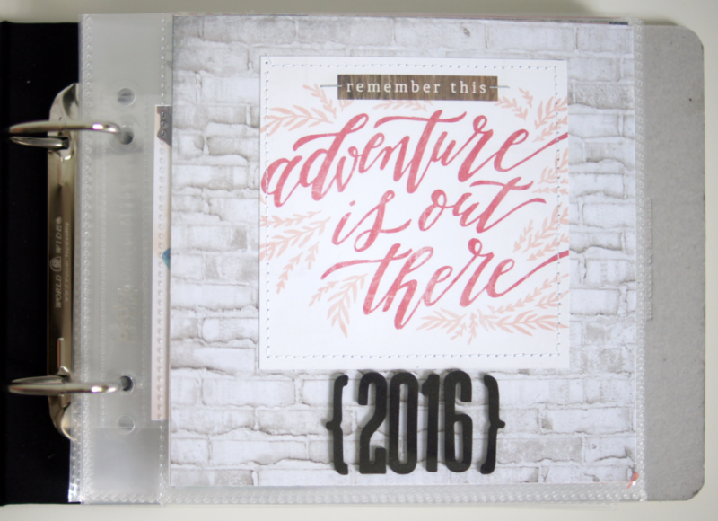 2016 Mini Album 6x6 Barbara Haane