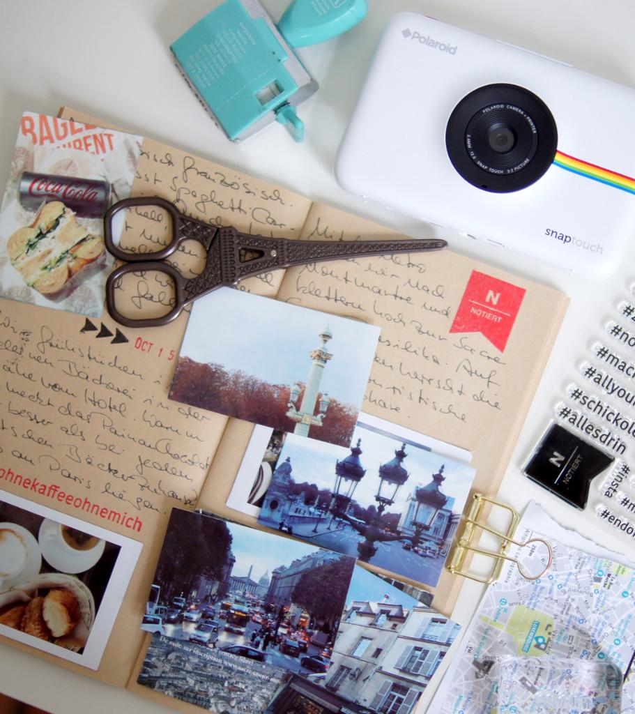 Die Polaroid Snap Touch Sofortbildkamera Und Sofortdrucker All In