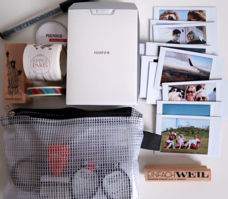 Instaxshare Drucker Bilder und Reisejournal