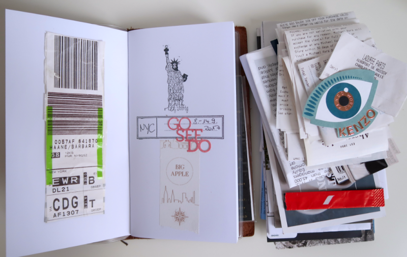 NYC Traveler's Notebook