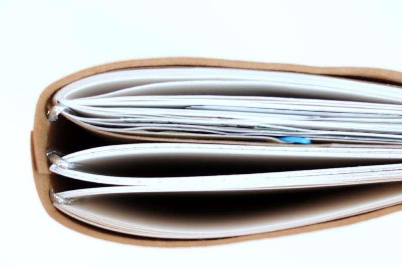 DIY Traveler's Notebook aus SnapPap selbermachen