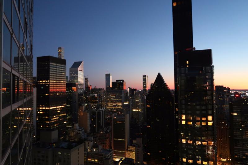 Blick aus dem Hotelzimmer Millenium ONE UN Hotel New York City