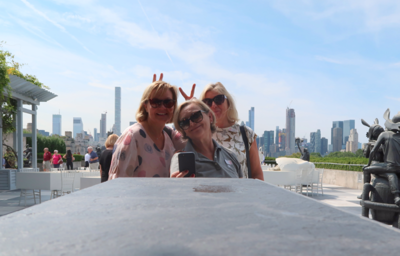 The Metropolitan Museum of Arts Rooftop Terrace
