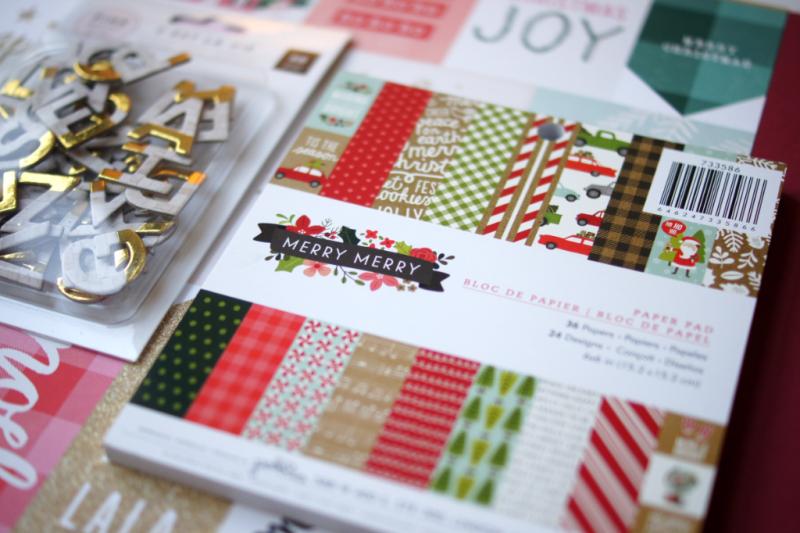 Scrap Impulse Adventswerkstatt Materialpaket