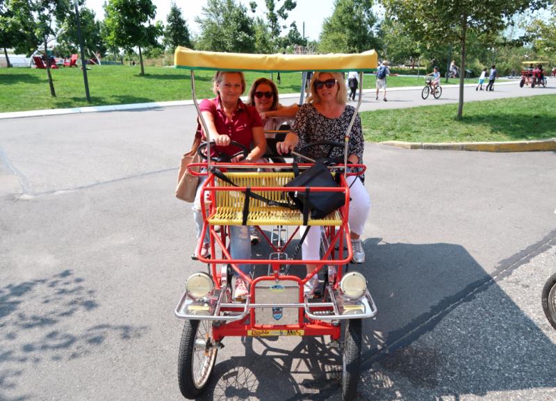 Fahrräder leihen auf Governors Island New York