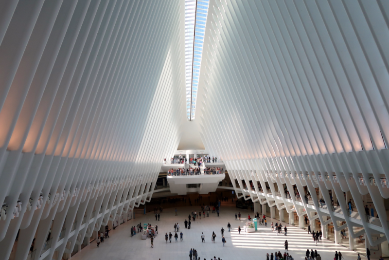 Oculus Bahnhof One World Trade Center New York City