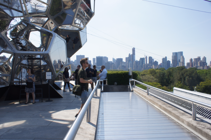 Tomas Saraceno Cloud City Rooftop Metropolitan Museum of Art 2012