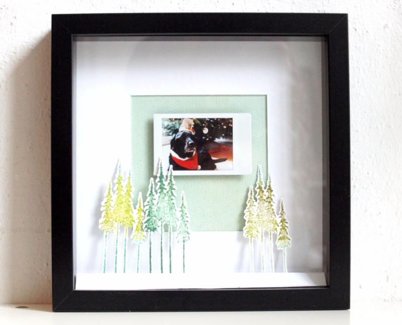 Weihnachtliche Home Deco Ikea Ribba Rahmen Mit Fuji Instax Foto