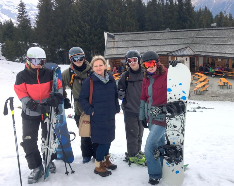 Ratschings Südtirol Skifahren 2017