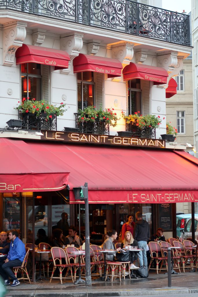 Paris Restaurant Le Saint Germain