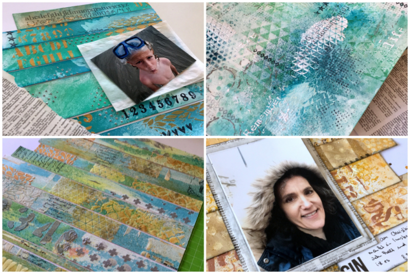 Mixed Media Scrapbooking Workshop