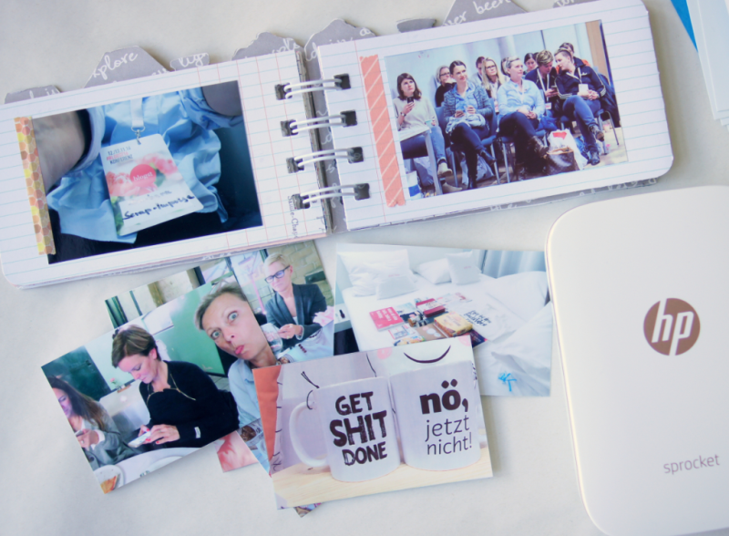 Scrapbooking Mini Album Fotodrucker
