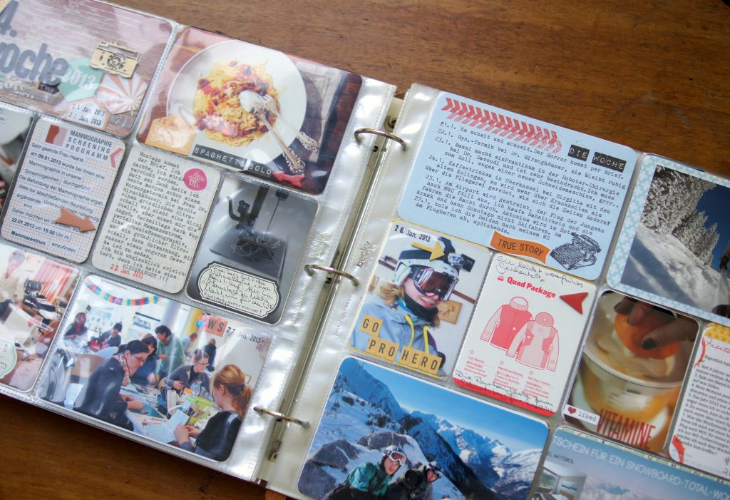 Scrapbooking Project Life Album 2012