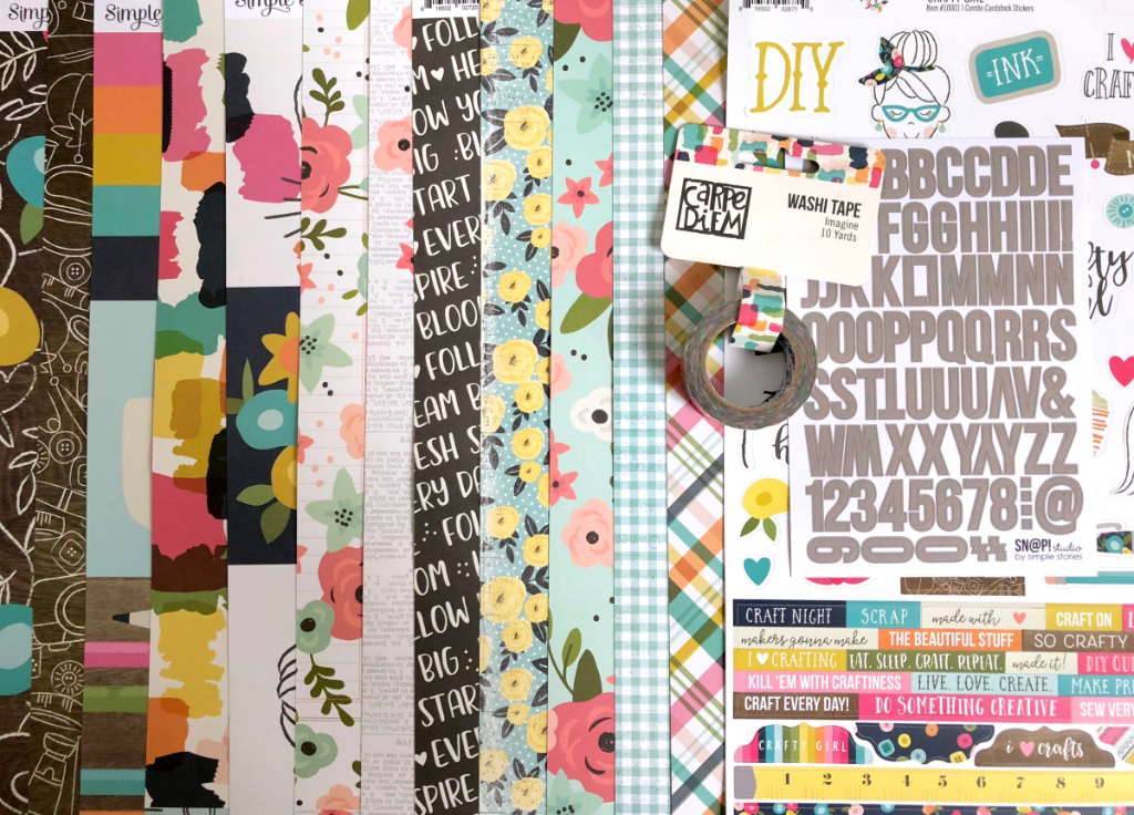 Scrapbooking Workshop Mai 2018