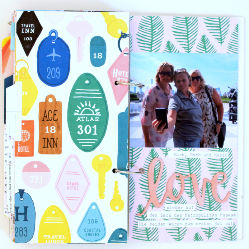 Travelers Notebook Scrapbooking-Album