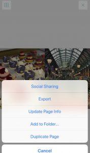 Project Life App zum Zuschneiden von Bildern