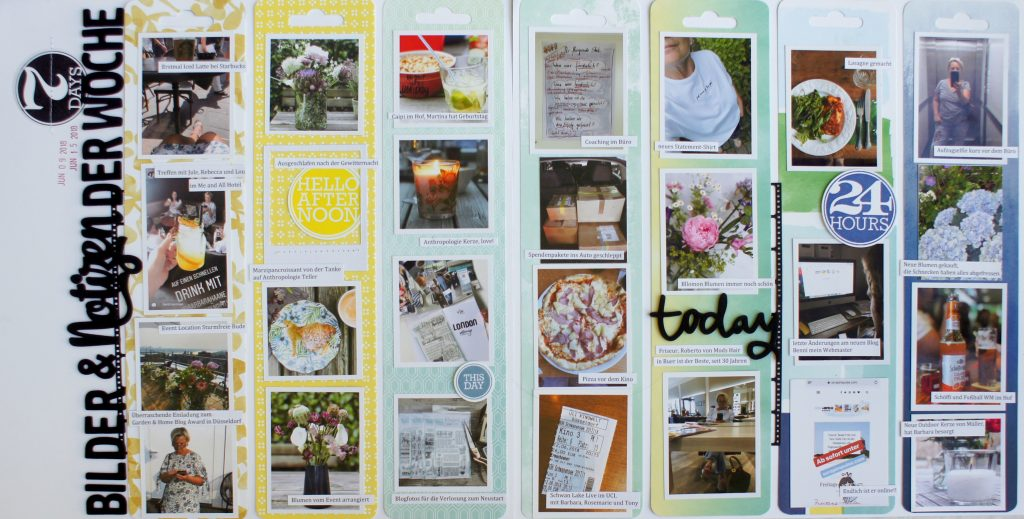 Week in the life Scrapbooking Doppellayout