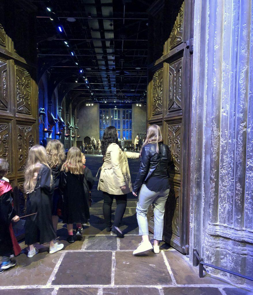 Die Große Halle in Hogwarts