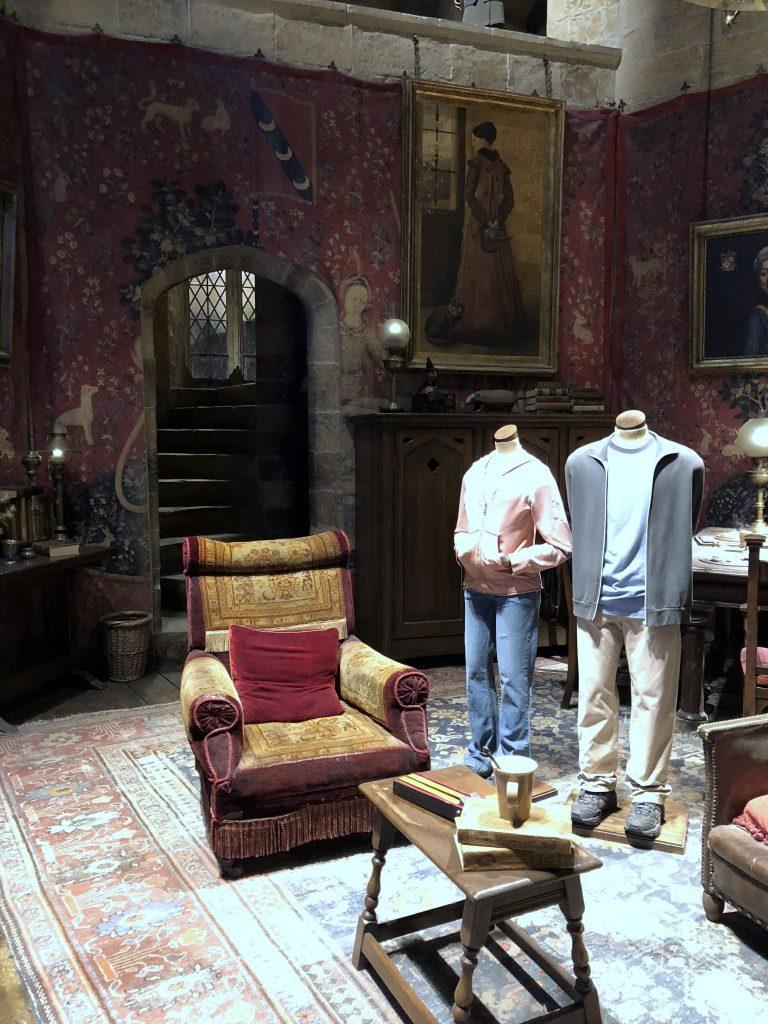 Harry Potter Studio Tour Gryffindors Gemeinschaftsraum