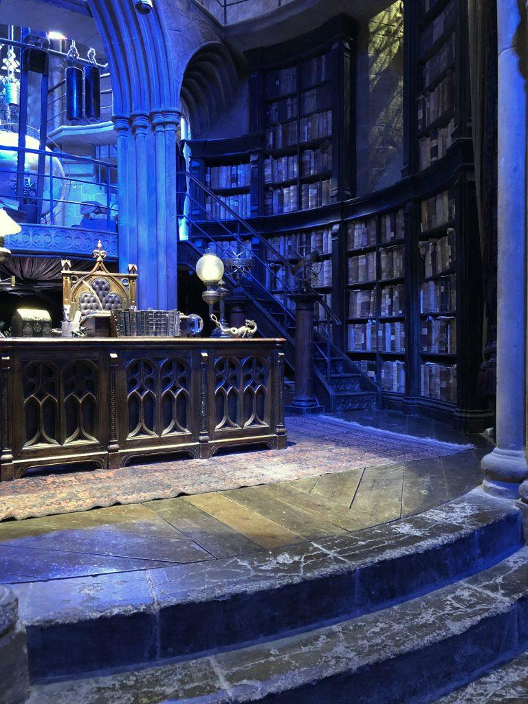 Dumbledores Büro Harry Potter Studio Tour London
