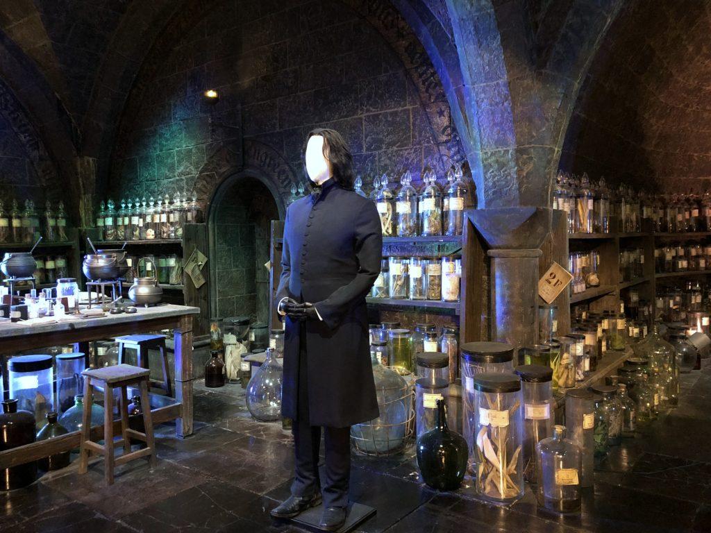 Zaubertrank Labor Harry Potter Studio Tour London