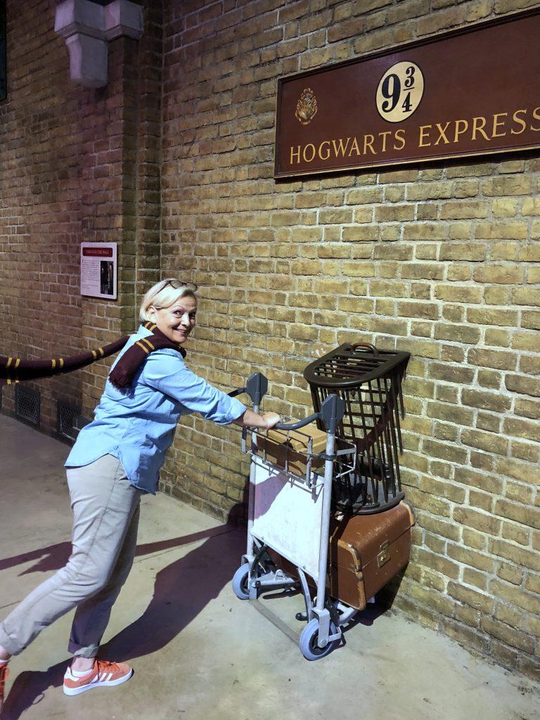 Gleis 9¾ Harry Potter Studio Tour