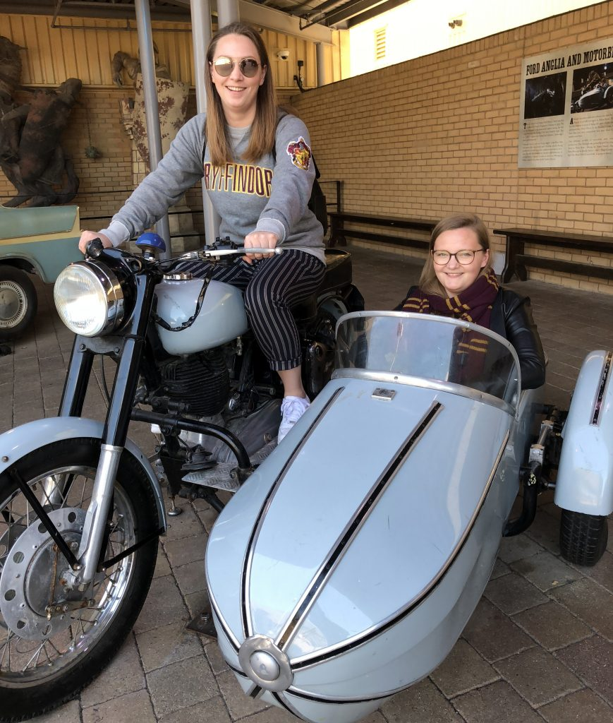 Motorrad Harry Potter Studio Tour