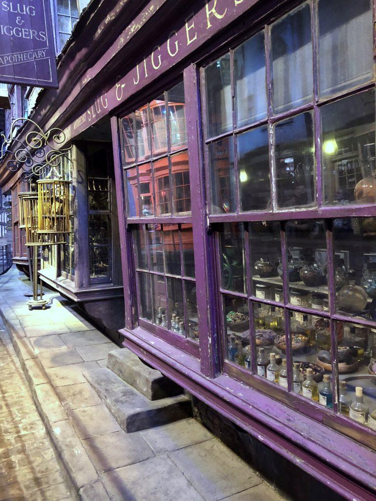 Winkelgasse Harry Potter Studio Tour