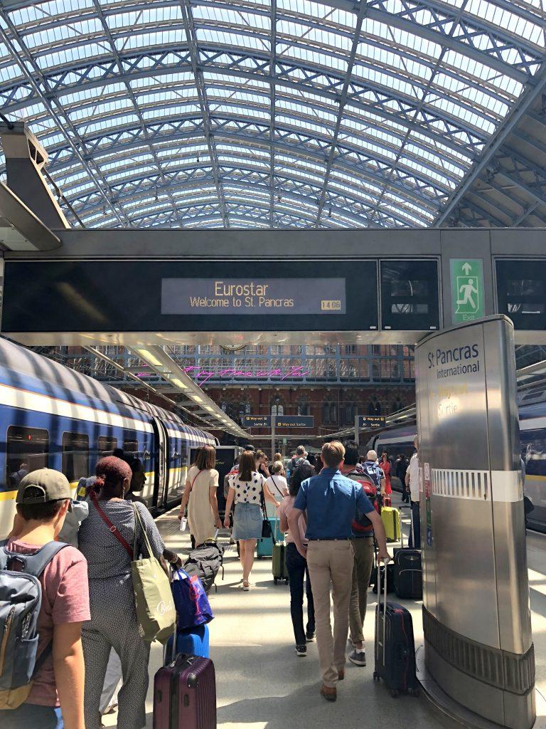 Eurostar London St Pancras
