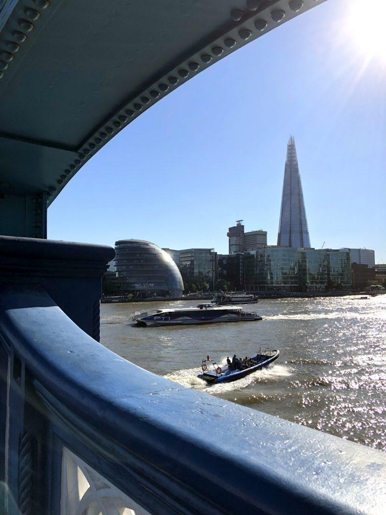The Shard London, Blick von der Tower Bridge
