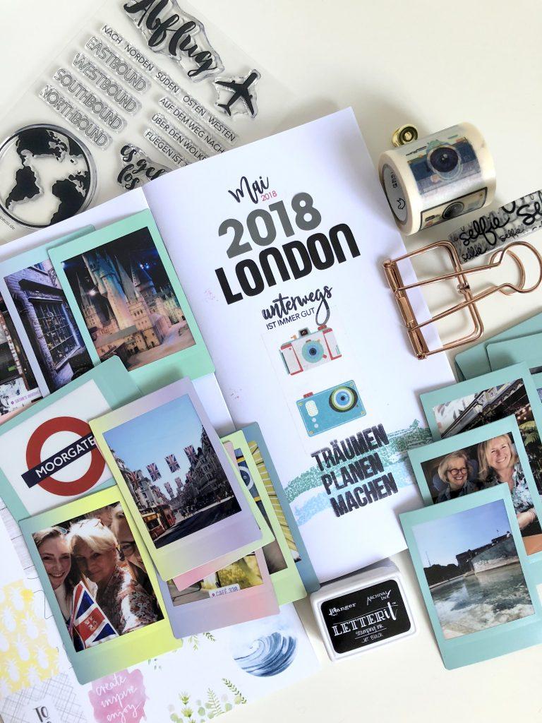 Fujifilm Instaxfotos und Danidori Reisejournal