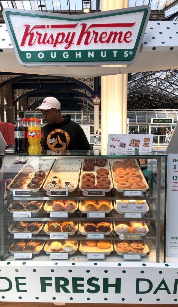 Krispy Kreme London Victoria Station