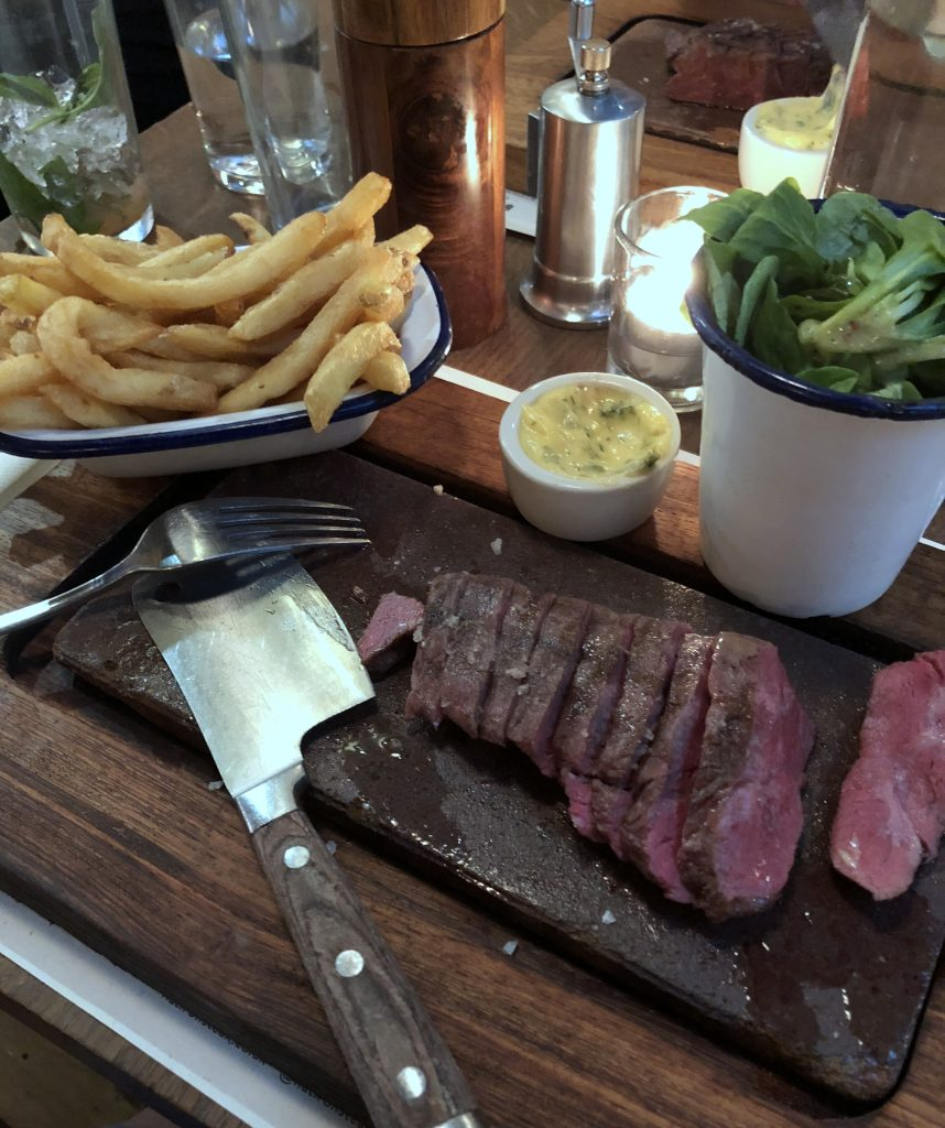 Flat Iron Restaurant Covent Garden London