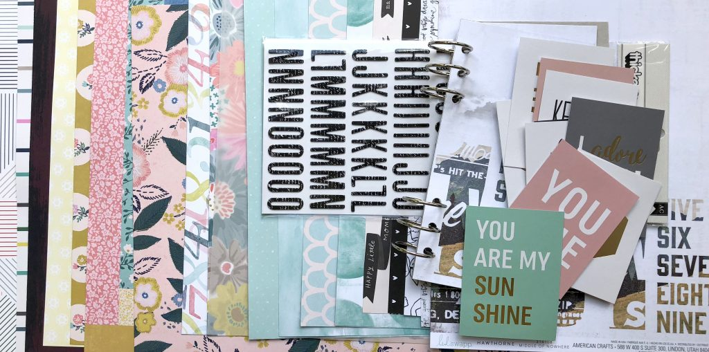 Material Scrapbooking-Workshop September 2018