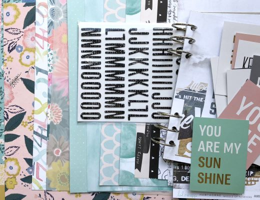 Material Scrapbooking Workshop September