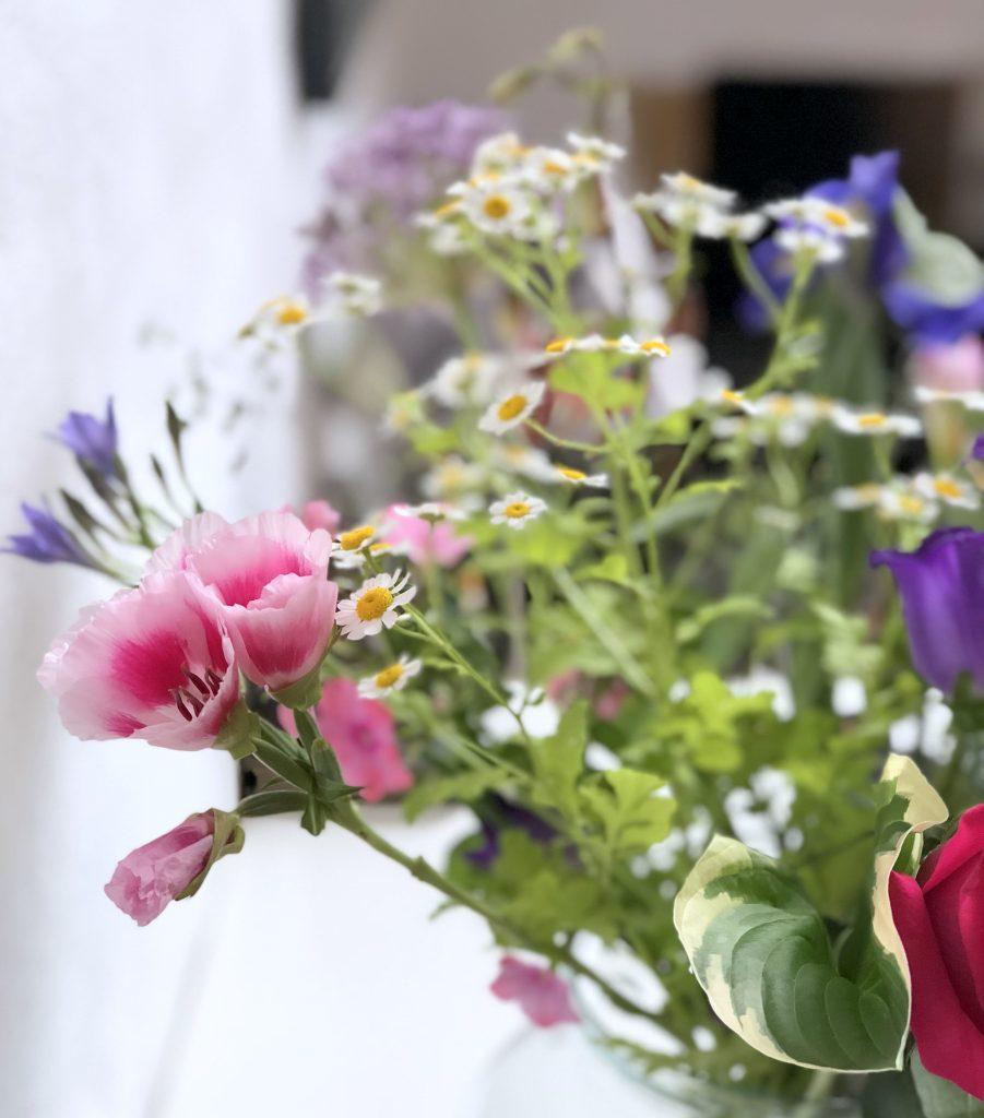 Scrapimpulse Blumen Motivation