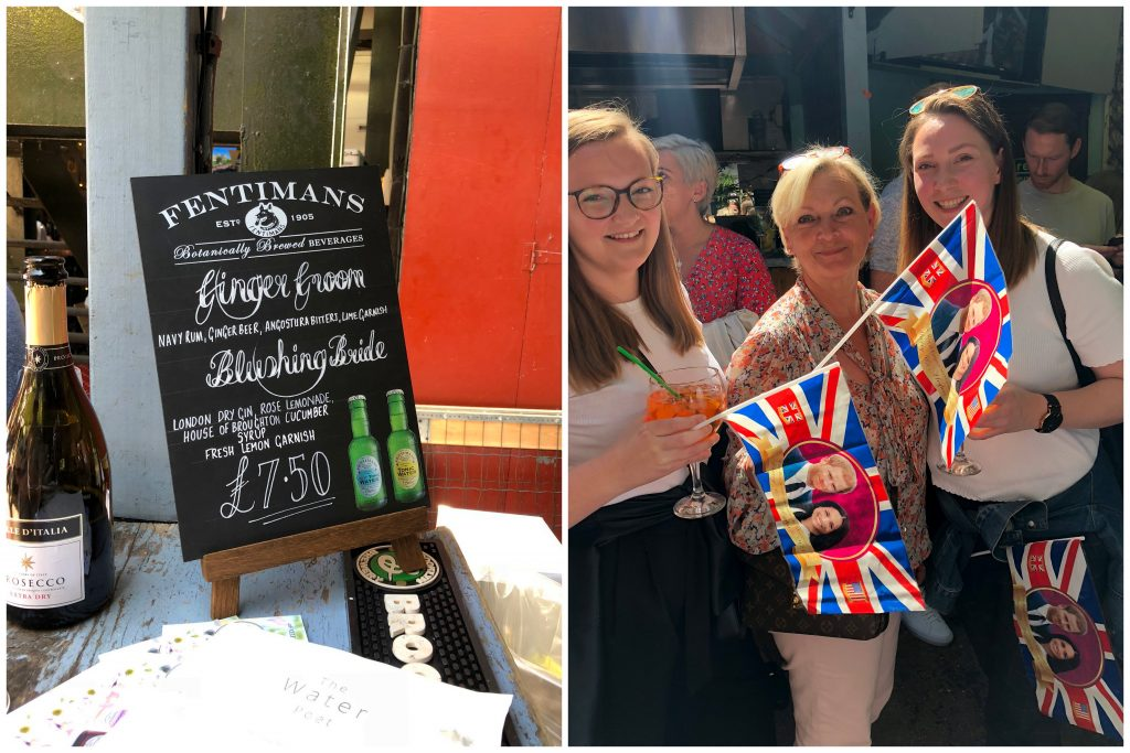 Royal wedding at The Water Poet Pub Shoredich East End London