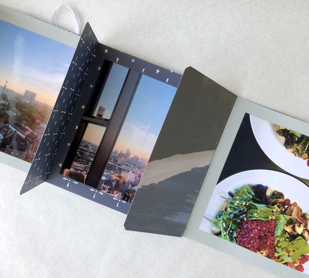 Anleitung für ein schnelles und einfaches Mini Album mit 13 x 13 Fotos