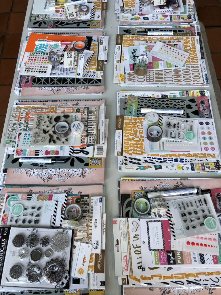 Scrapbooking Materialpakete von Scrap-Impulse Workshops