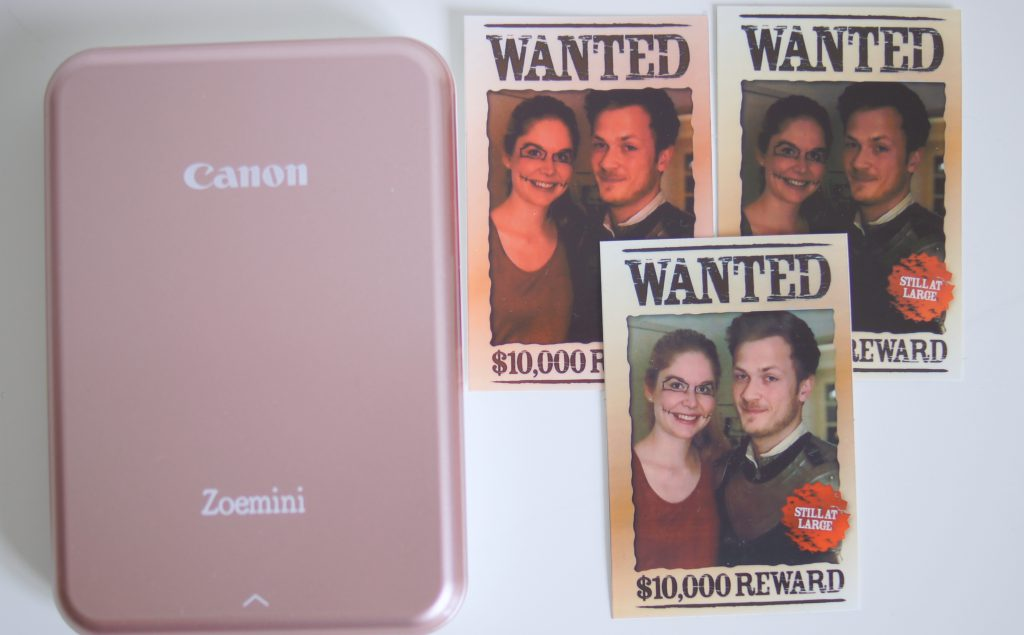 der kleine Drucker Canon Zoemini im Test
